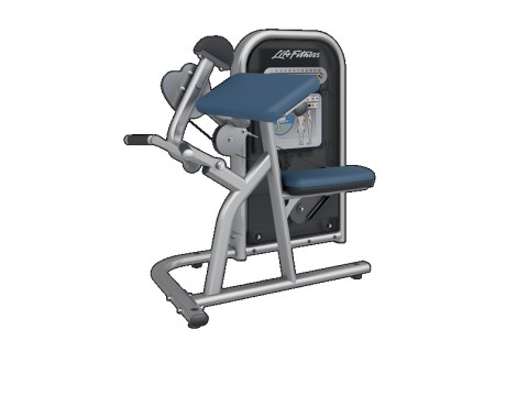 LIFE FITNESS SERIA PRO – ARM CURL